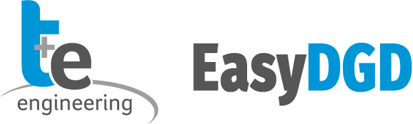 EasyDGD - Logo T+E Engineering